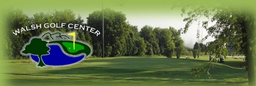 Walsh Golf Center front page header